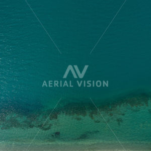 Aqua Water Top-down - Aerial Vision Stock Imagery
