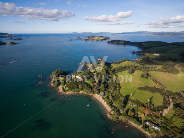 Bay of Islands - Aerial Vision Stock Imagery
