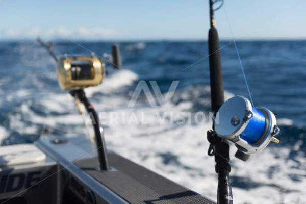 Bay of Islands Game Fishing - Aerial Vision Stock Imagery