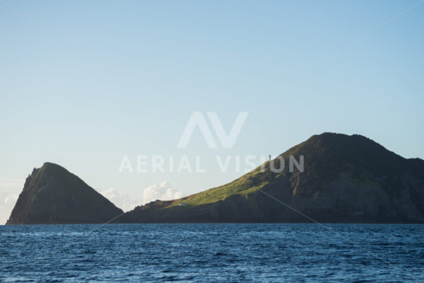 Cape Brett – Hole in the Rock - Aerial Vision Stock Imagery