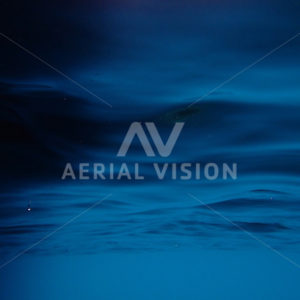 Deep Underwater Blue - Aerial Vision Stock Imagery
