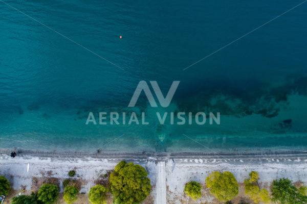 Glendu Bay Top-down #2 - Aerial Vision Stock Imagery