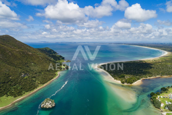 Houhora Heads - Aerial Vision Stock Imagery