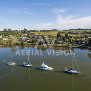 Kerikeri Inlet - Aerial Vision Stock Imagery