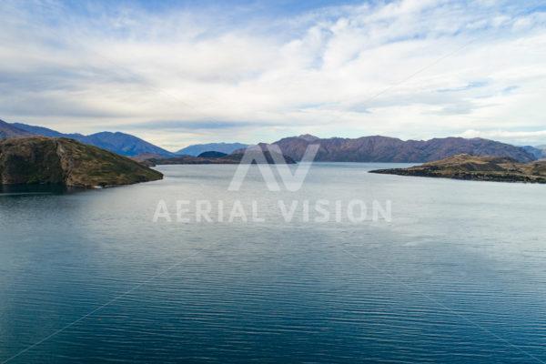 Lake Te Anau - Aerial Vision Stock Imagery