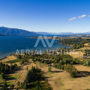 Lake Te Anau - Aerial Vision Stock Imagery
