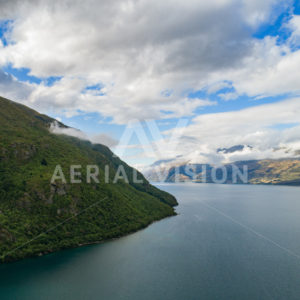 Lake Wakatipu - Aerial Vision Stock Imagery