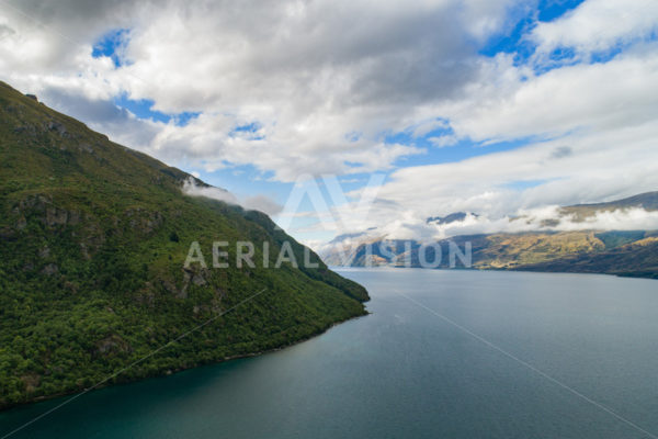 Lake Wakatipu - Aerial Vision Stock Imagery