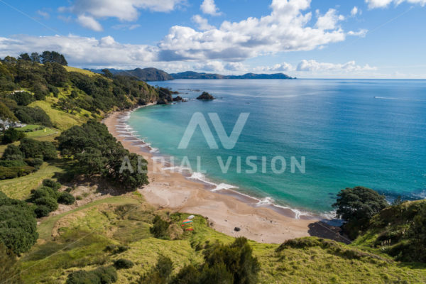 Marble Bay Beach - Aerial Vision Stock Imagery