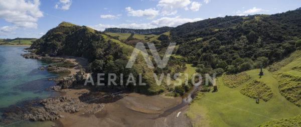 Marsden Cross Panorama - Aerial Vision Stock Imagery