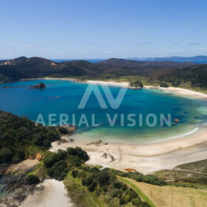Matai Bay - Aerial Vision Stock Imagery