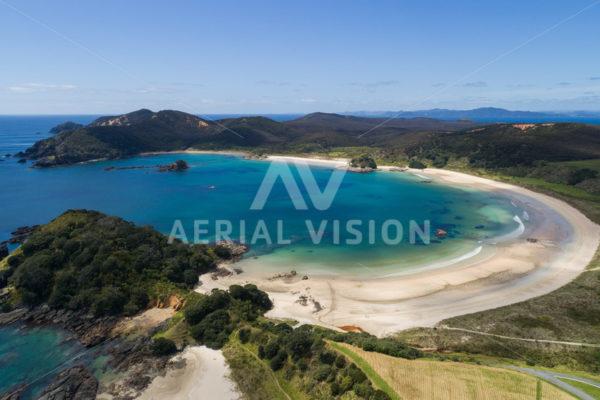Matai Bay - Aerial Vision Stock Imagery