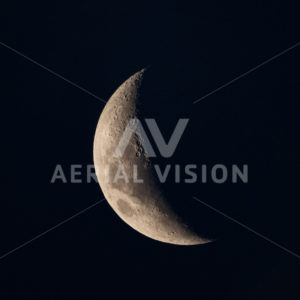 Moon - Aerial Vision Stock Imagery