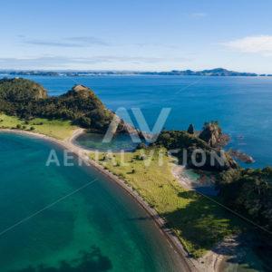 Motuarohia/Roberton Island - Aerial Vision Stock Imagery