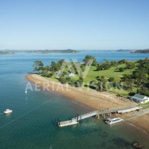 Moturoa Island - Aerial Vision Stock Imagery