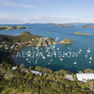 Opito Bay - Aerial Vision Stock Imagery