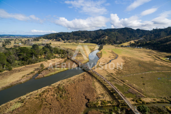 Opua Cycle Trail - Aerial Vision Stock Imagery