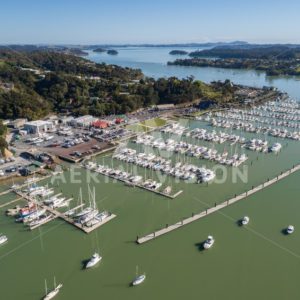 Opua Marina - Aerial Vision Stock Imagery