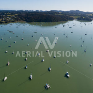Opua Marina - Aerial Vision Stock Imagery