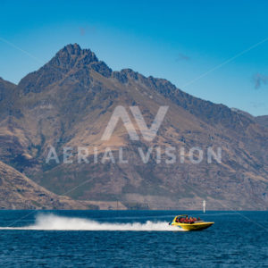 Queenstown Jetboat - Aerial Vision Stock Imagery