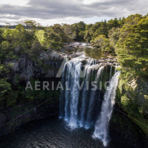 Rainbow Falls - Aerial Vision Stock Imagery