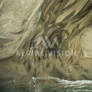 Sandy Texture Top-down - Aerial Vision Stock Imagery