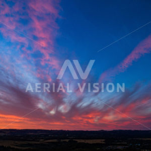Sunset - Aerial Vision Stock Imagery