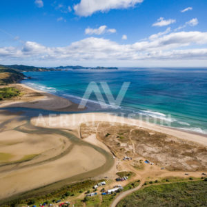 Takou Bay - Aerial Vision Stock Imagery