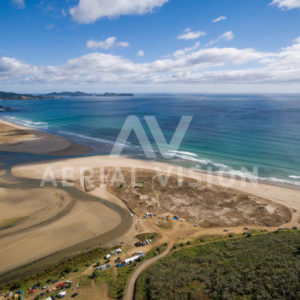 Takou Bay Panorama - Aerial Vision Stock Imagery
