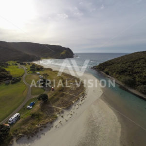 Tapotupotu Bay - Aerial Vision Stock Imagery
