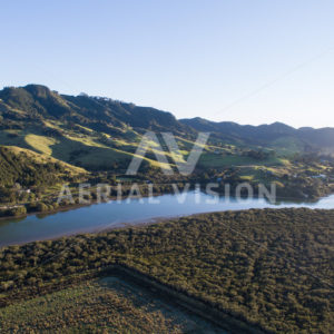 Totara North - Aerial Vision Stock Imagery