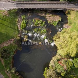 Waipapa Landing Top-down - Aerial Vision Stock Imagery