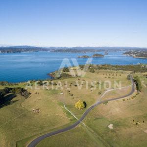 Waitangi Golf Course - Aerial Vision Stock Imagery