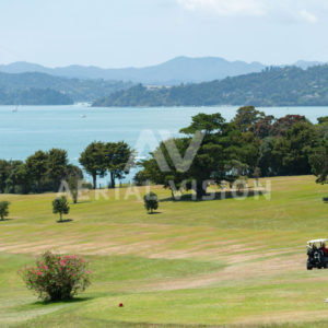 Waitangi Golf Course - Aerial Vision Stock Imagery
