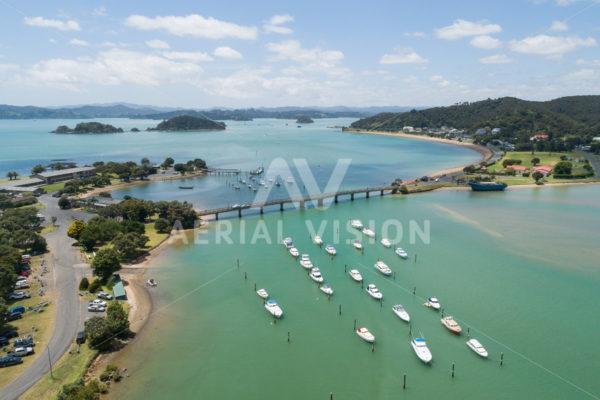 Waitangi bridge - Aerial Vision Stock Imagery